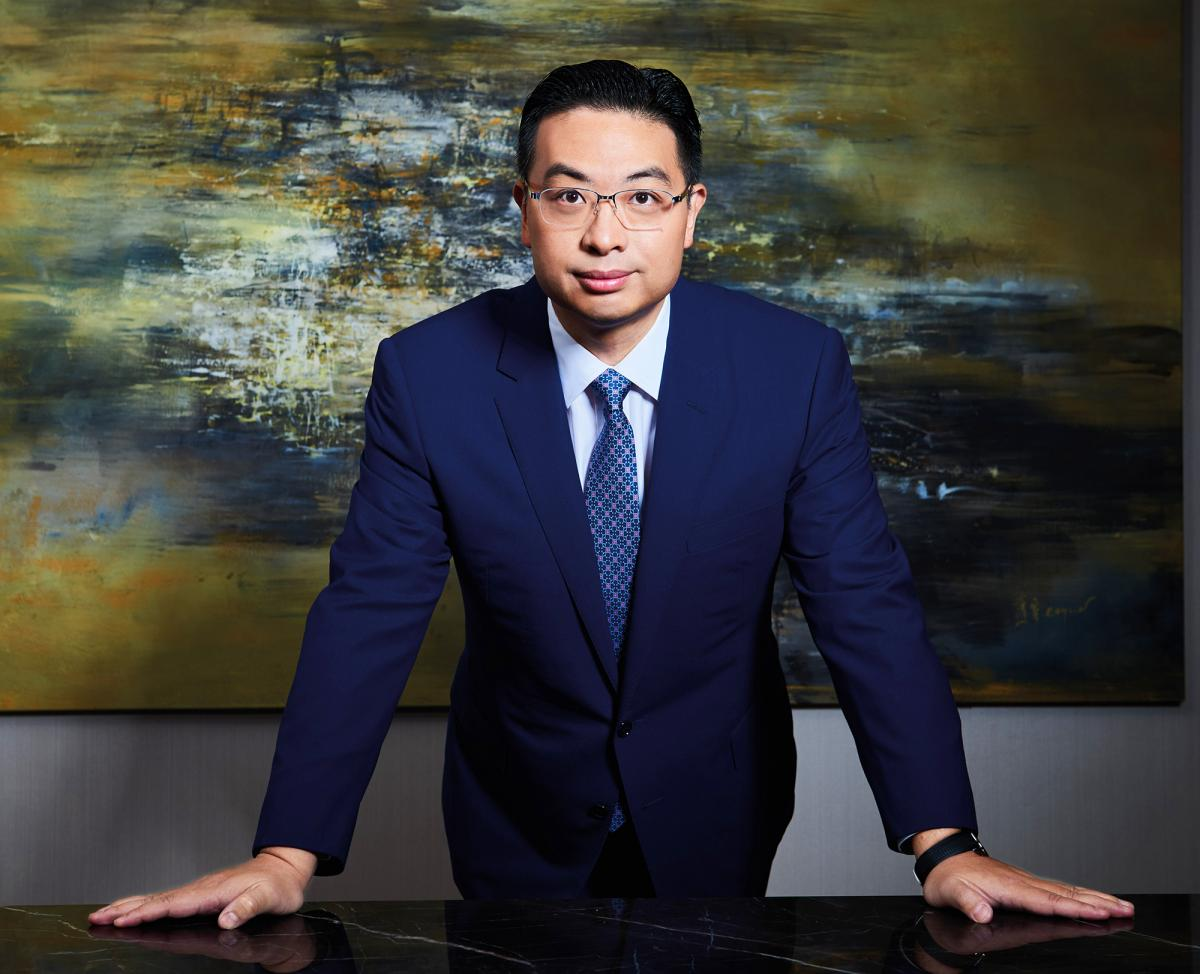 Dr Johnny Hon, executive chairman, Global Group International Holdings
