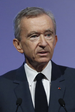 Bernard Arnault, chairman and chief executive of LVMH